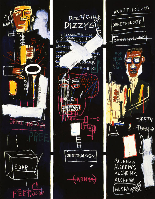 Jean-Michel Basquiat, Horn Players, 1983