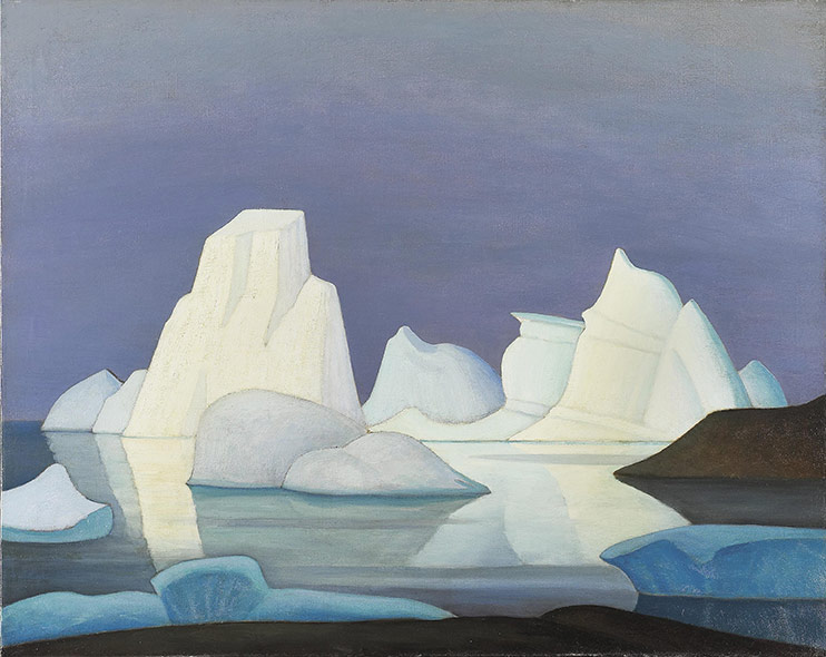 Lawren Harris, Grounded Icebergs (Disco Bay)
