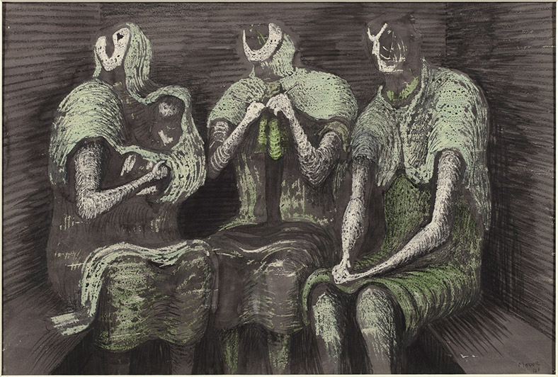 Henry Moore, Three Fates