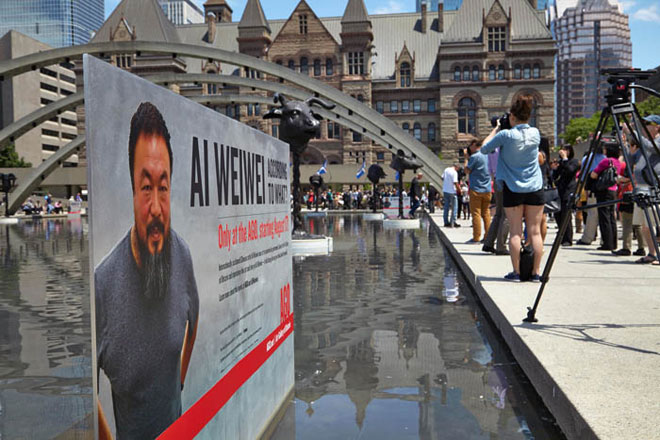 Photo of Ai Weiwei slide show