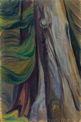 Emily Carr, In the Forest, B.C., c. 1935