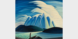 Lawren Harris, Lake and Mountains, 1928