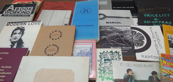 Artists' books and multiples from the collection of the E.P. Taylor Research Library & Archives
