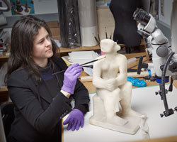 Lisa Ellis, Conservator, Sculpture and Decorative Arts