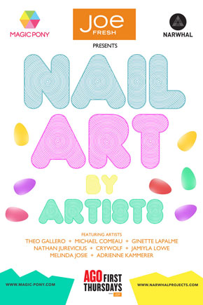 Magic Pony Nail Art Poster