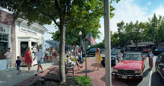 Scott McFarland, Main Street Optics, Main Street, Southampton,  New York, 2012
