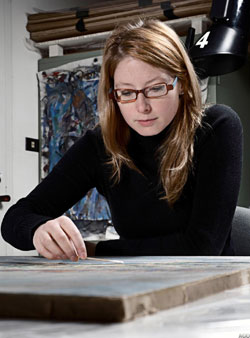 Marie-Eve Thibeault, Conservator, Paintings, OPT