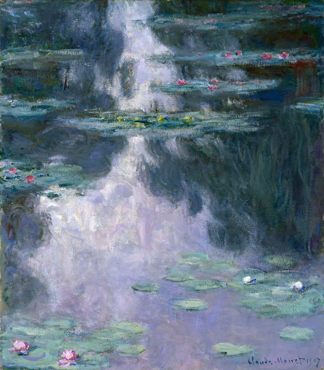 Claude Monet, Water Lilies (Nyphéas), 1907