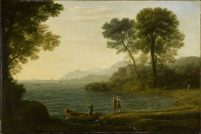 Claude Lorrain   The Embarkation of Carlo and Ubaldo, 1667