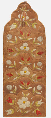 Ojibwe maker unknown, Wall pocket, late 1800s