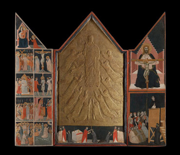 Pacino di Bonaguida, Painting: The Chiarito Tabernacle