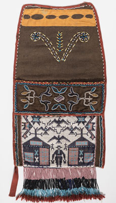 Potawatomi maker unknown, Sleeve bag, ca. 1880