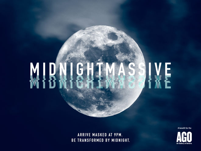 Midnight Massive Party Banner