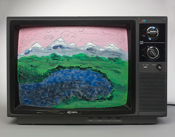 IAIN BAXTER& (Canadian, born 1936), Television Works (detail), 1999–2006