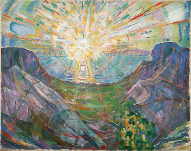 Edvard Munch, The Sun, 1910-13