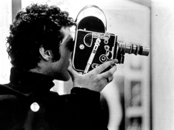 Warren Sonbert with Camera