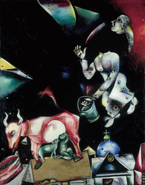 Marc Chagall, To Russia, Donkeys and Others