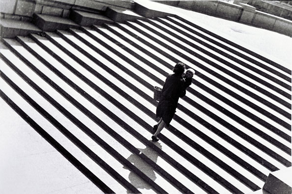 Aleksandr Rodtchenko. L'escalier, 1930 (The Staircase, 1930).