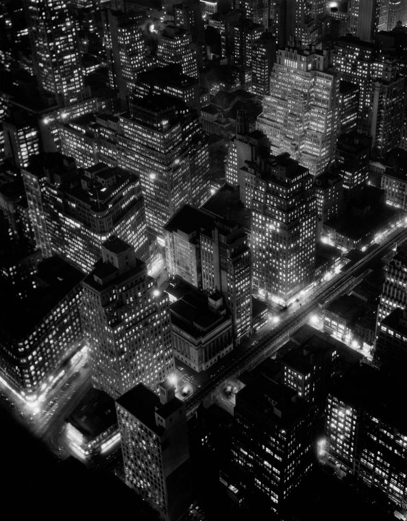 Berenice Abbott, Nightview, New York, 1932