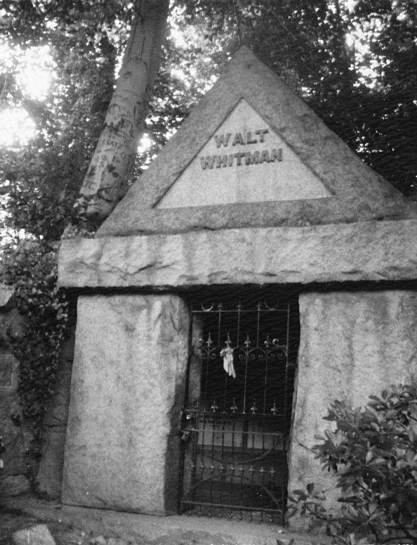 Patti Smith, Walt Whitman's Tomb, Camden, NJ, 2007