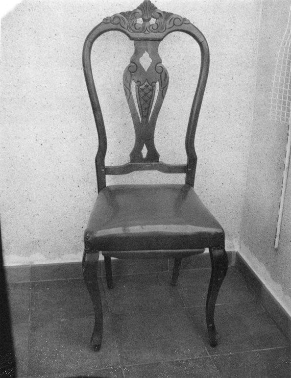 Patti Smith, Roberto Bolaño's Chair 1, 2010