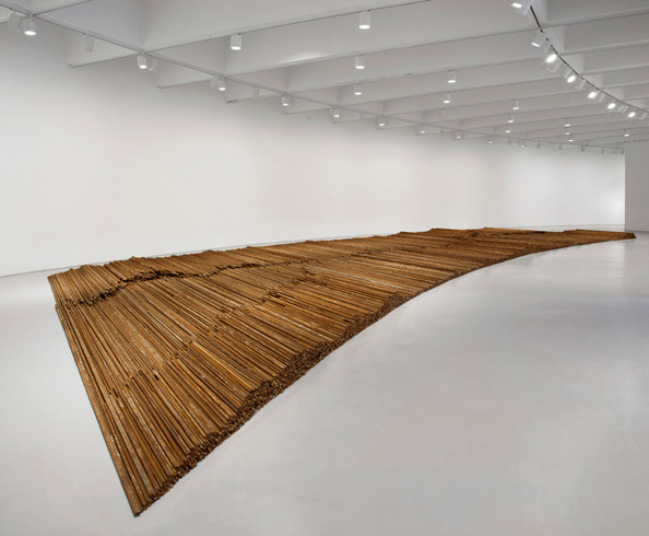 Ai Weiwei, Installation view of Straight, 2008–2012