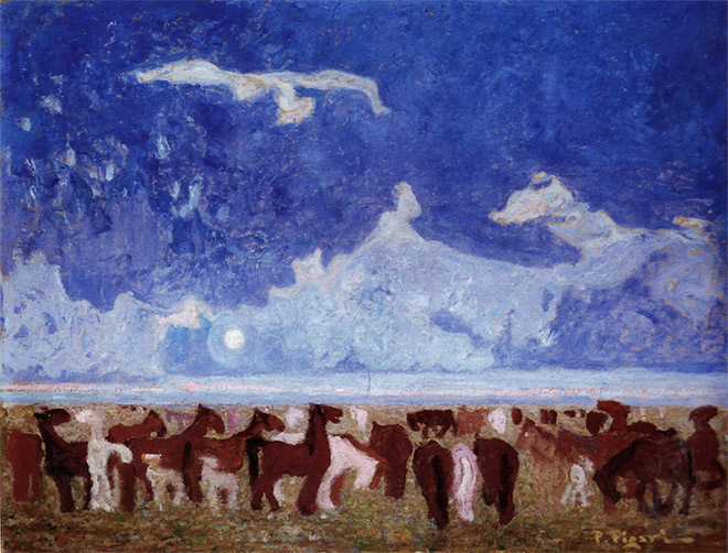 Pedro Figari, Colts on the pampa