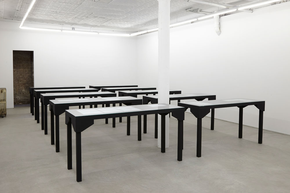 Edgardo Aragón, vue d'installation : <em>Trésor</em>, Laurel Gitlen Gallery, New York.