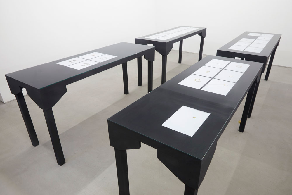 Edgardo Aragón, installation view: <em>Tesoro</em>, Laurel Gitlen Gallery, New York.