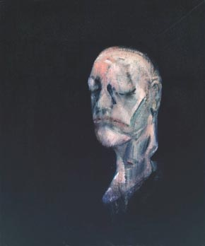 Francis Bacon, Study for Portrait II (after the Life Mask of William Blake), 1955
