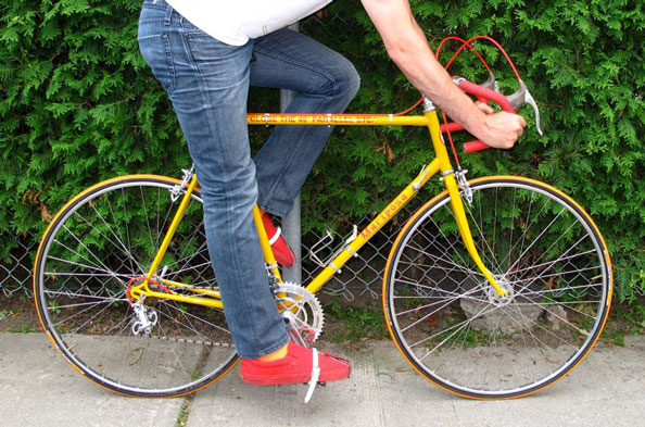 Paul Butler, Close the 49th Parallel ETC. Bicycle Replica, 2011