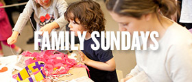 family sundays at the AGO
