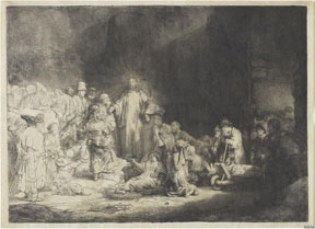 Rembrandt Harmensz van Rijn (Dutch, 1606-1669), The Hundred Guilder Print, c.1649