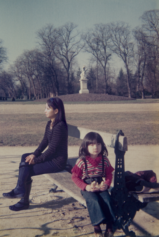 Chino Otsuka, <em>1977 and 2009, Jardin du Luxembourg, France</em> from the series <em>Imagine Finding Me</em>, 2009, chromogenic print, 305 mm x 406 mm
