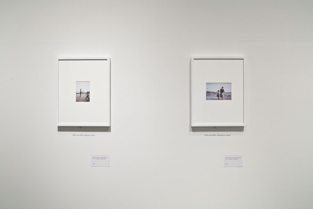 Chino Otsuka, installation view: <em>Imagine Finding Me</em>, Tokyo Metropolitan Museum of Photography, 2013. Photo by the artist.