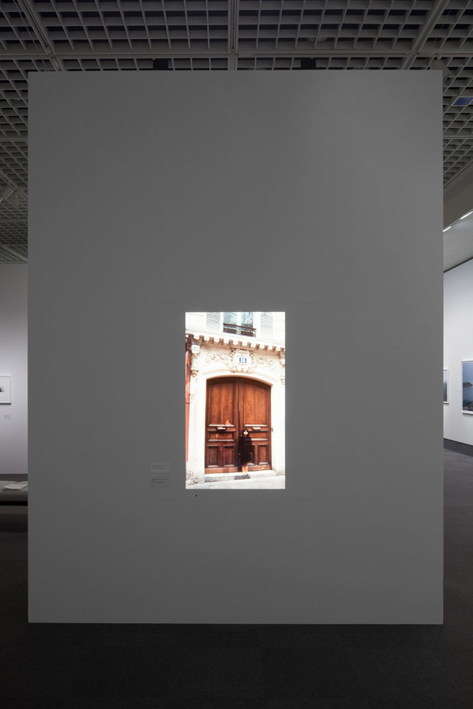 Chino Otsuka, installation view: <em>Memoriography 1, 1982 and 2009, 16 Avenue de Villiers, Paris, France</em>, sound, 6min, Tokyo Metropolitan Museum of Photography, 2009. Photo by Tokyo Metropolitan Museum of Photography.