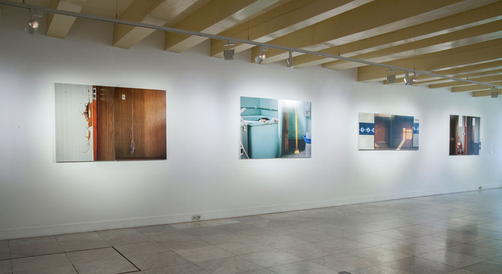 Chino Otsuka, installation view: <em>Tokyo 4-3-4-506</em>, Huis Marseille Museum for Photography, Amsterdam. Photo by the artist.