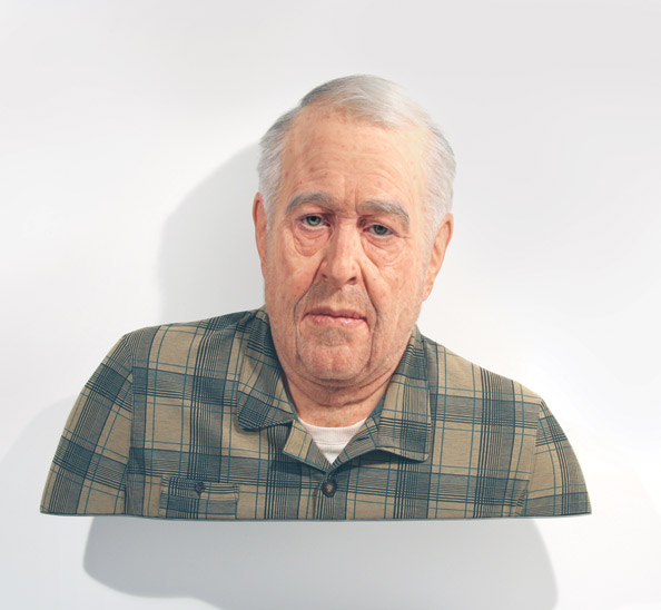 Evan Penny, (Old) No One – In Particular #5, Series 2, 2005
