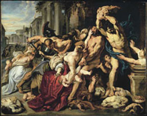 The Massacre of the Innocents, Peter Paul Rubens, 1611-1612.