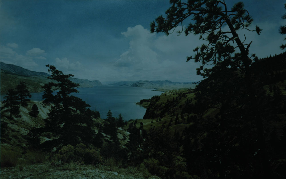 Erin Shirreff, <em>Lake</em>, video still, 2012, color video, silent, 44 minute loop