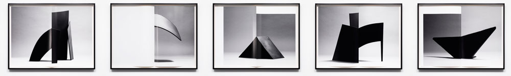 Erin Shirreff, <em>Monograph (no. 2)</em>, detail, 2012, five archival pigment prints, each 86.4 cm x 116.8 cm, with fold