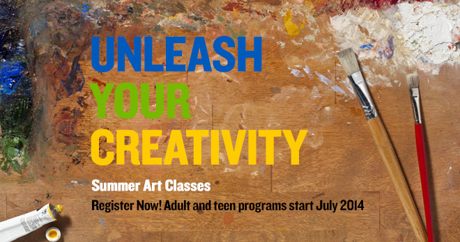 Unleash your creativity - Register now!