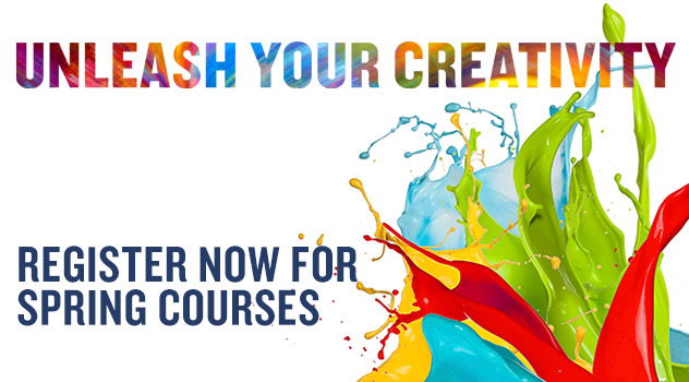 register now for spring courses
