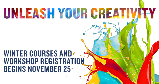 Unleash your creativity - Registration begins November 25