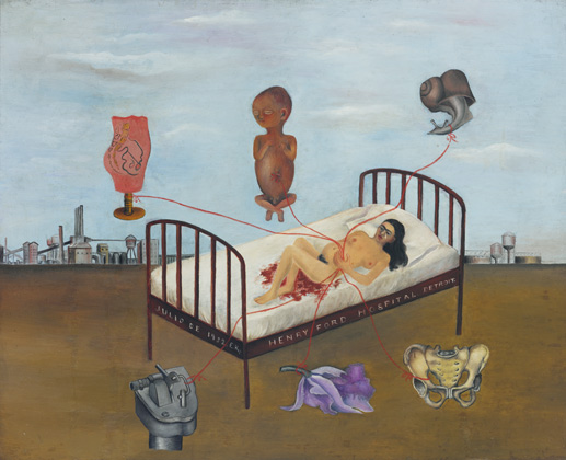 Frida Kahlo (1907-1954), Hospital Henry Ford, 1932, (Henry Ford Hospital, 1932)
