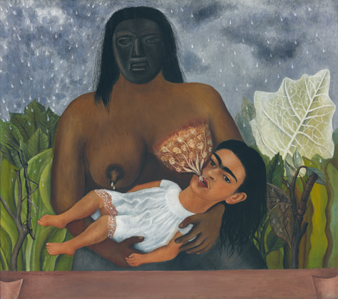 Frida Kahlo (1907-1954), Mi nana y yo, 1937 (My Nurse and I, 1937)