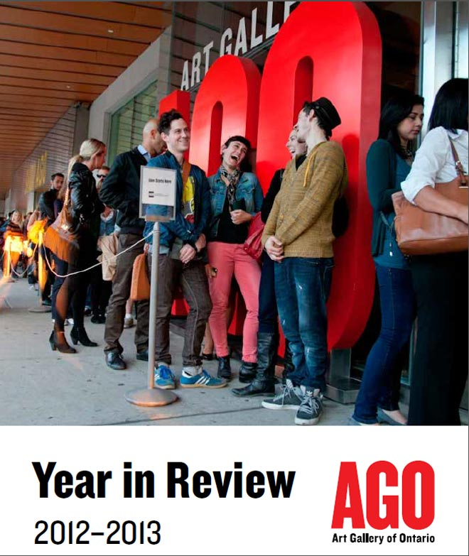 Art Gallery of Ontario Year in Review 2012-13