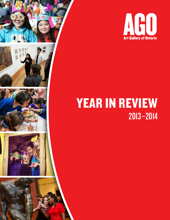 Art Gallery of Ontario - Year in Review 2013-14