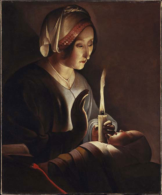 "Artwork Today: ""St. Joseph the Carpenter"" by Georges de la Tour"