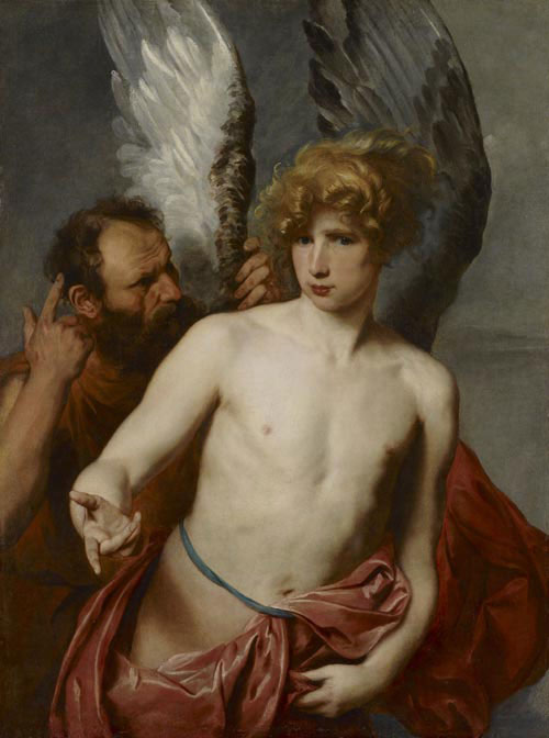 Anthony van dyck daedalus and icarus ago art gallery of ontario